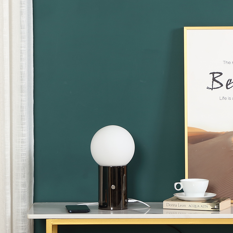 metal table lamp base-1