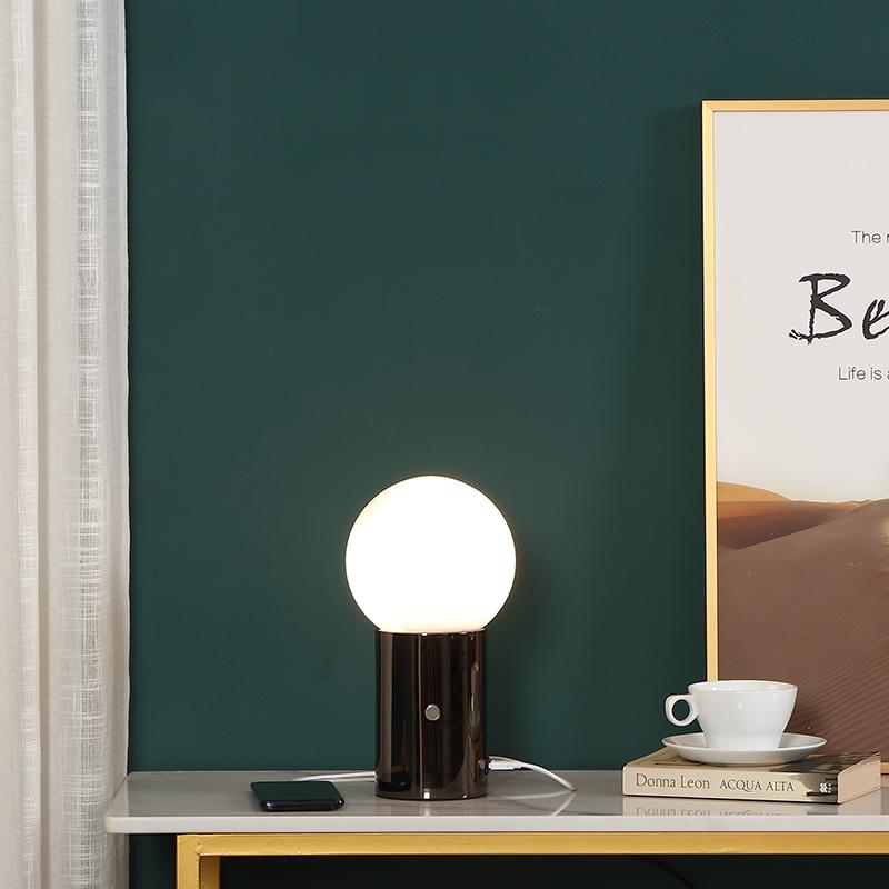 metal table lamp base-2