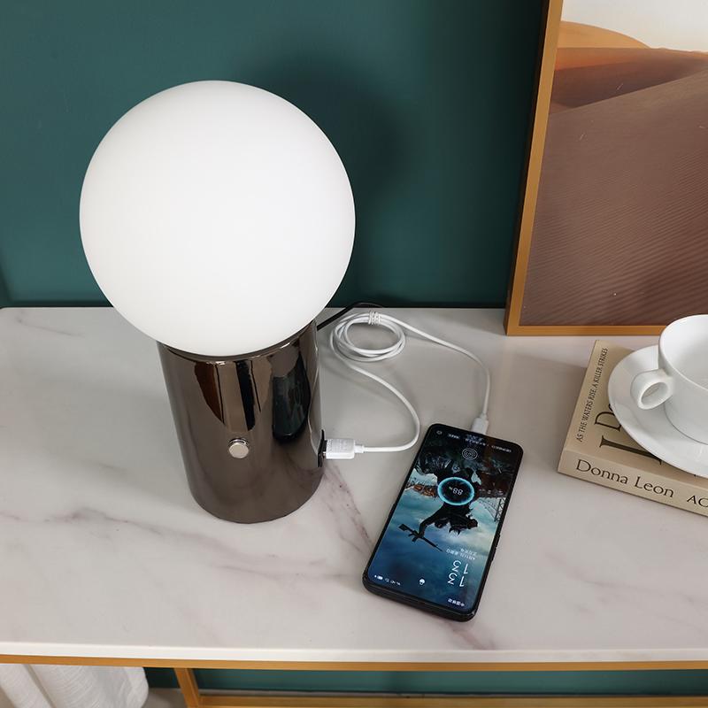 metal table lamp base-4