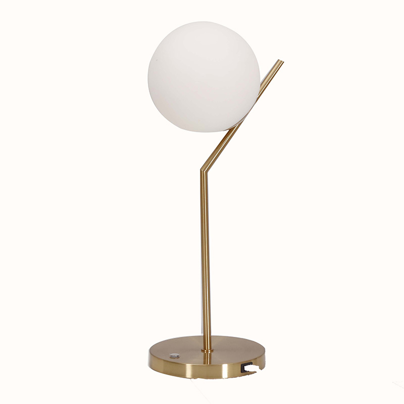 table lamp usb port | end table lamp with usb port | Goodly Light-GL-TLM001-USB Featured Image