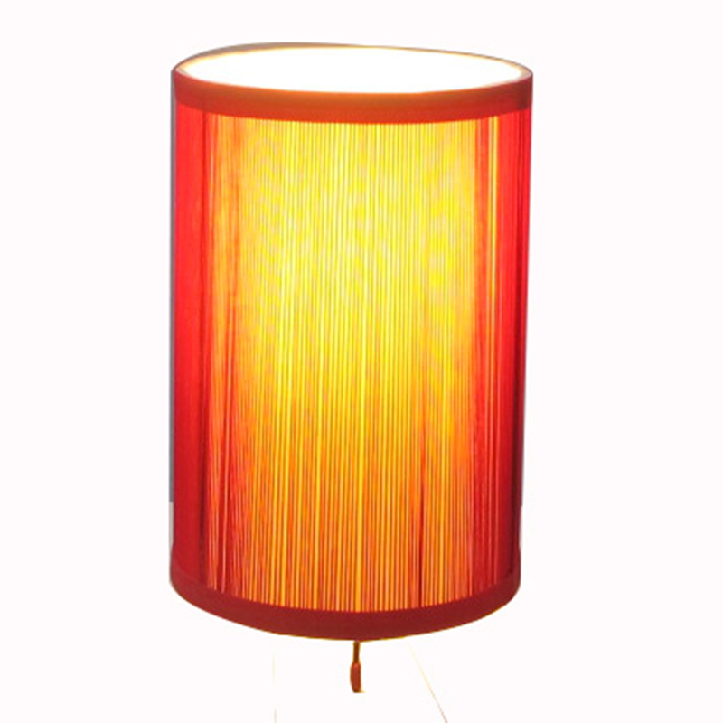 Red Table Lamp Shade Bedside Goodly Light Gl Tlm016