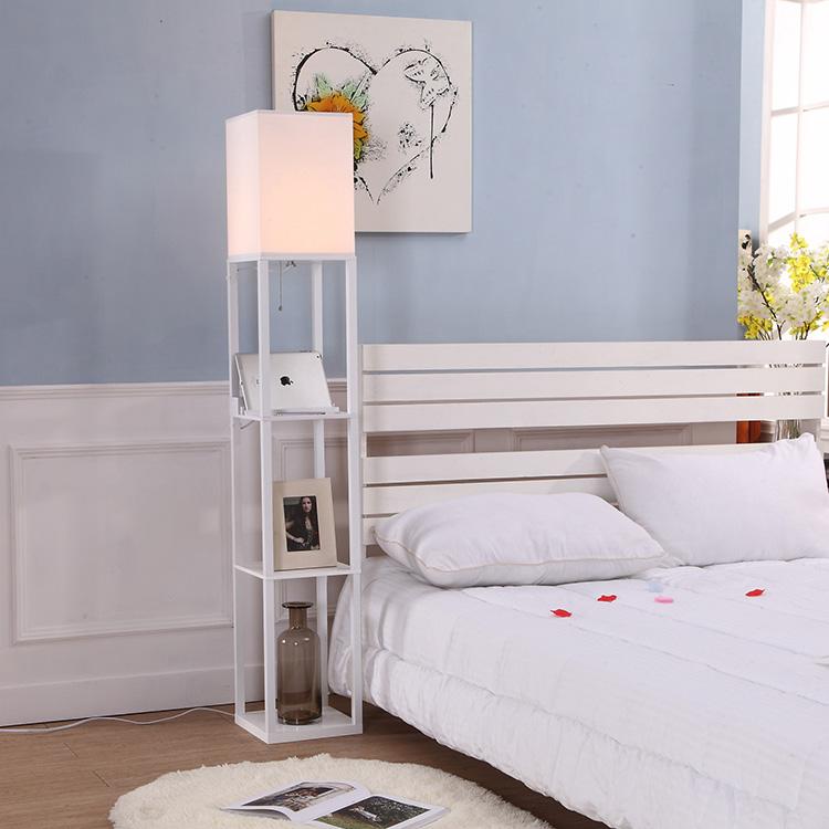 shelf floor lamp with usb-application1