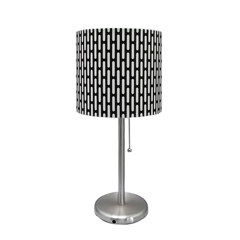 nickel table lamp | lamp for vanity table | Goodly Light-GL-TLM004 Featured Image
