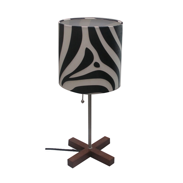 table Lamp with cross base- Elegant and Practical Design 1