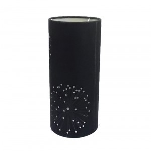 long cylinder lamp shade | lamp with black shade | Goodly Light-GL-SH012