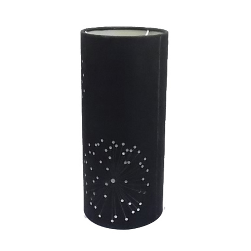Long Cylinder Lamp Shade With Black Goodly Light Gl Sh012