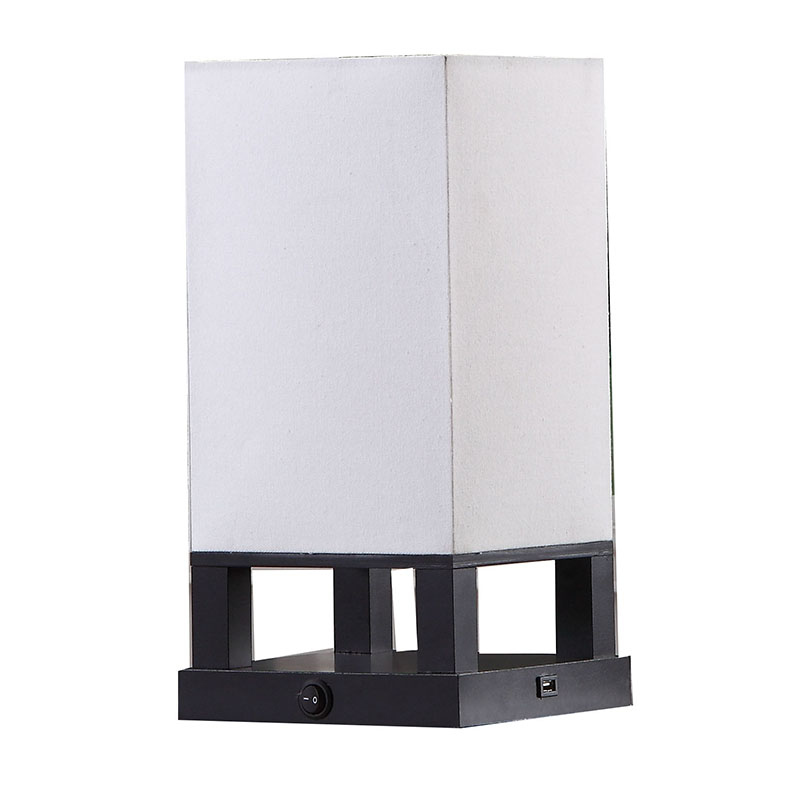 table lamp with usb port |  supplier & Manufacturing China | Goodly Light-GL-TLW002-USB Featured Image