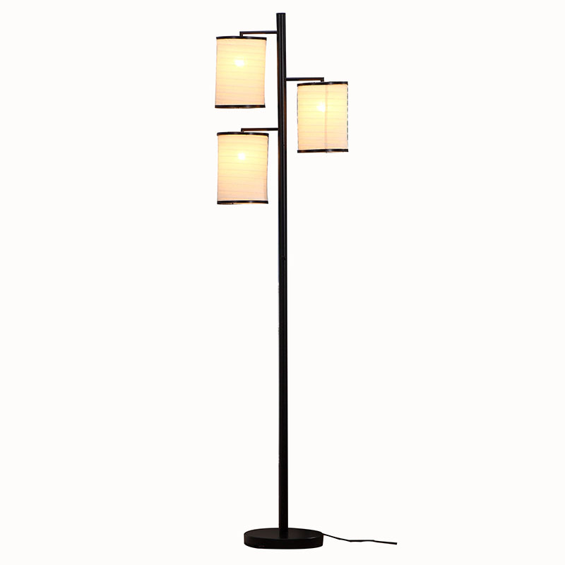 Black Tree Lamp Standing Floor Best Goodly Light Gl Flm02