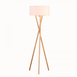 wooden tripod floor lamp,floor standing tripod lamp | Goodly Light-GL-FLW015