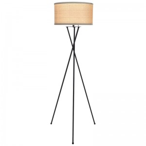 Modern Tripod Floor Lamp,brushed nickel tripod floor lamp |  Goodly Light-GL-FLM04