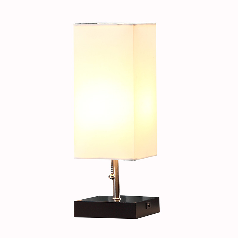table lamp with usb port | black table lamp with usb port | Goodly Light-GL-TLW003-USB Featured Image