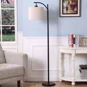 industrial floor lamp,black floor lamp,modern black floor lamp | Goodly Light-GL-FLM01