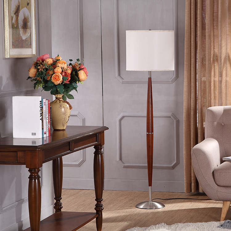 wood and metal floor lamp 5